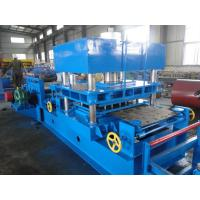 China Imported PLC Control Wayside Guardrail Forming Machine Use Hydraulic Blade Cutting System wholesale
