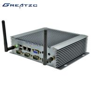 China Embedded Mini PC Computer I3 3217U Processor 6 COM Mini Industrial PC wholesale