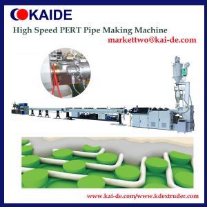 High Speed PE-RT Pipe Production Machine 16mm-32mm/ 35m/min Pipe Making Machine