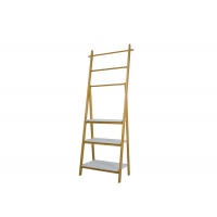 Quality Bathroom MDF Bamboo 10KG Load Multi Tier Shelf for sale