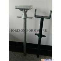 China Painted Scaffold Screw Jack Base and Jack Head Jack with BS1139 Standard wholesale
