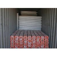 Buy cheap Galvanized Spraying Builders Temporary Fencing , Temporary Construction Fence Panels from wholesalers