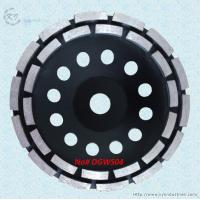 China Double Row Diamond Cup Grinding Wheel for Granite and Concrete - DGWS04 wholesale