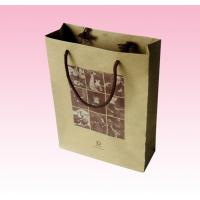 China custom where to buy brown paper bags with cotton rope factory on sale