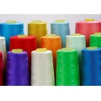China Virgin 100 Spun Polyester Sewing Thread For Garment Sewing 40s / 2 Good Elasticity wholesale