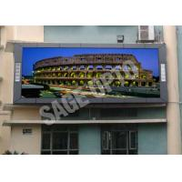 Quality High Brightness P10 Full Color LED Display Screen For Advertising , 160*160mm for sale