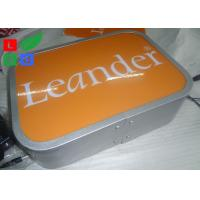 China Water Resistant LED Illuminated Projecting Signs No Light Spot For Store Logo wholesale