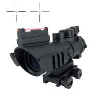 China Army Fiber 4x AR Optics Scope Variable 4 x 32 Multi Side Mounting Aluminum wholesale