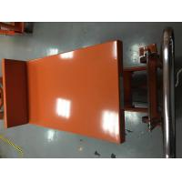China Hydraulic Lift Tilt Table For Granite Slabs , Hi - Low Mobile Hydraulic Lift Cart wholesale