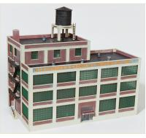 Architectural Scale school building