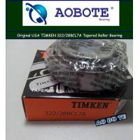 China Timken Automotive Tapered Roller Bearing For Plastic Machinery 322 / 28BCL7A wholesale