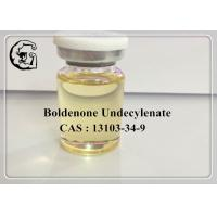 China CAS 13103-34-9 Boldenone Undecylenate Injectable Anabolic Steroids 300mg/ml Equipoise wholesale