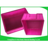 China Mini Load Euro Containers With Lids , Standard Plastic Stacking Boxes PP Materials wholesale