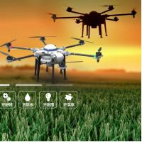 China 6-rotor Capacity 10KG drone agriculture pesticides spraying machine drone sprayer Agricultural spraying drone on sale