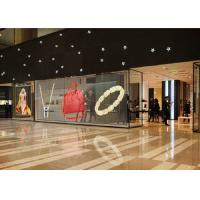 China Indoor Transparent Glass Led Display High Brightness / Transparency Fixed In Shopping Mall wholesale