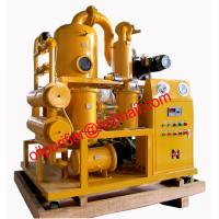 China Double Stage Transformer Oil Purifier Machine With Dehydration and Filtration Plant wholesale