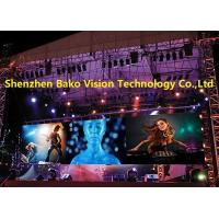 China Waterproof Outdoor Led Panel Stage Background P6.25 High Definition Fast Installation wholesale