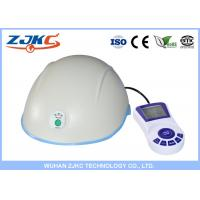 White Laser Hair Cap , Hair Loss Laser Treatment For Hair Growth