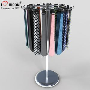 China Metal Display Racks Retail Store Cylinder Belt Tie Display Racks wholesale