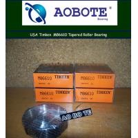 China Low noise Single Row Timken Taper Roller Bearings For front wheel wholesale