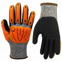 China High Dexterity Cut Resistant Anti Impact Gloves TPR Heavy Mechanic Gloves wholesale