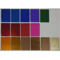 Quality Anodized Finish 1050 1060 1100 Aluminum Sheet Rust Resistant For Tags / for sale