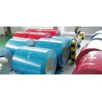 China Corrosion Proof Painted Steel Coil For Corrugated Sheet , Color Coated Steel Coil wholesale