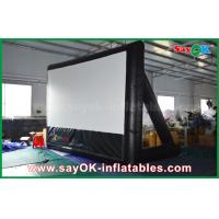 China 7mLx4mH Inflatable Movie Screen PVC Material WIth Frame For Projection wholesale