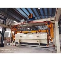 China Wheels Carrying L5000mm AAC Block Plant Side Plate-AAC Plant Cross Cutting Machine Full Automatic Concrete AAC Brick wholesale