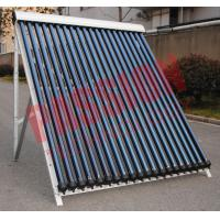 China Convenient Install Heat Pipe Solar Collector With Reflectors 24mm Condenser wholesale