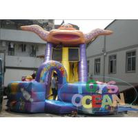 China Commercial Space Inflatable Slides , Kids Inflatable Water Slide Rentals wholesale