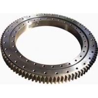 China Single Row Four Point Contact Ball Slewing Ring Bearings Without Gear For Axial Load wholesale