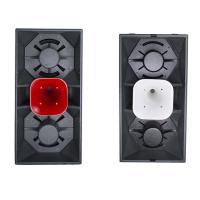 China Dual 15'' Deep Sound PA Speaker bars night clubs conference centers stadiums arenas professional audio loudspeaker box on sale