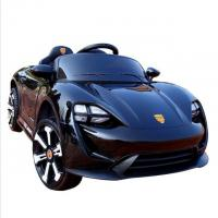 China Rechargeable Black color Kids Toy car 6V4ah*2 Electric Ride On Car wholesale