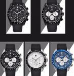 Wholesale Fashion Men Multifunction Chronograph Silica Gel Band Waterproof 30m Quartz Wrist Watches BY-5120
