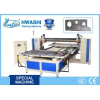 China Automatic Door Sheet Metal Welder With CNC Double Head Mobile System on sale