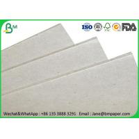 China 0.5mm - 4mm Grey Paper Board , Laminated Cardboard Sheets For Book Binding wholesale