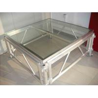 China Mobile Acrylic Stage Platform / Transparent Square Stage Platform wholesale