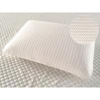 China Neck support sleeping memory foam pillow, comfortable foam pillow with removable air layer knitted fabric cover on sale