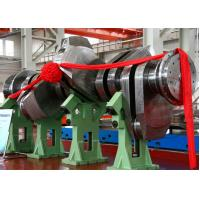 Quality Marine Diesel Engine Forged Steel Shaft / Motorcycle Crankshaft Forging ISO ASTM for sale