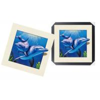 China Modern 3d Custom Lenticular Printing With PS Frame , 5d Deep Effect Photos wholesale