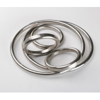 China High Pressure 900LB Aluminum Oval Ring Joint Gasket wholesale
