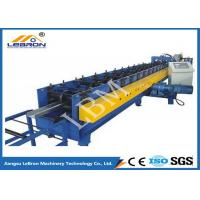China 75mm Roller Shaft C Z Purlin Roll Forming Machine , C Shape Purlin Making Machine on sale