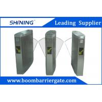 China 260mm Grass Arm Flap Metal Barrier Gates, Security Gates For Hotel Entrance wholesale