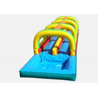China inflatable tropical slide ,giant inflatable slip and slide for adult wholesale