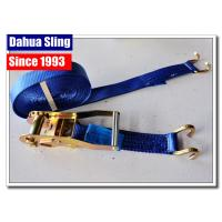 China Open Hook Over The Wheel Tie Down Straps , Industrial Ratchet Straps 3325 Lbs wholesale