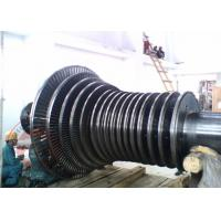 China Open Die Forging Steam Turbine Rotor Forging Alloy Steel For Power Generator wholesale