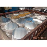China 410mm Diameter 1100 Aluminum Disks For Lamps / Lanterns No Treatment Surface wholesale