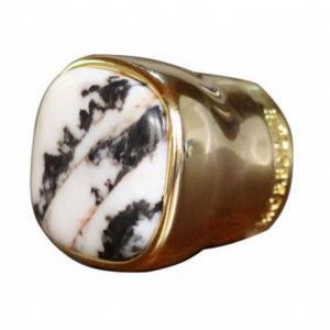 China Metal Zamac Perfume Bottle Caps Cover Unique Design Perfume Lid With Stone wholesale