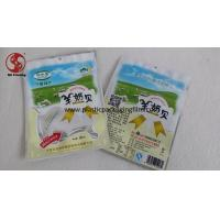 China Candy Packaging Tearing Notch Aluminum Foil Bags With Zipper Moisture Proof on sale